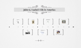 John G. Loebel: Life in America