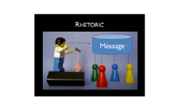 Rhetoric in Informational Texts