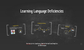 Copy of Learning Language D