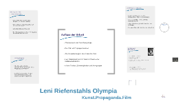 Leni Riefenstahls Olympia