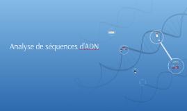 Analyse de séquence d'ADN