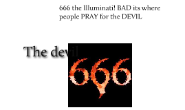 666 the Illuminati