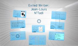 Jean-Louis N'Tadi-Exiled Writer