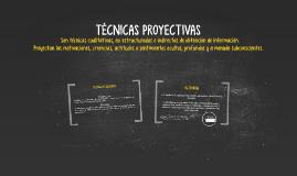 TECNICAS PROYECTIVAS