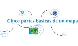 Cinco partes básicas de un mapa