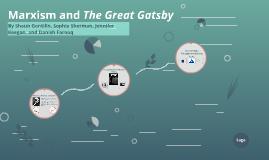 Marxist Criticism of Gatsby