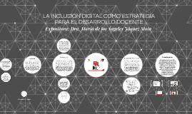 LA INCLUSIÓN DIGITAL COMO ESTRATEGIA PARA EL DESARROLLO DOCE