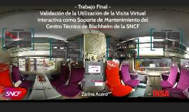 Validación de la utilización de la Visita Virtual Interactiv