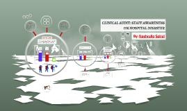 Clinical Audit: Disaster Management