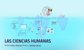 Copy of LAS CIENCIAS HUMANAS