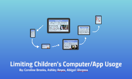 Limiting Children's Computer/App Usage