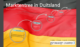 Marktentree in Duitsland