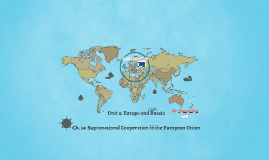 Chapter 14: Supranational Cooperation in the EU