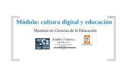 Presentación seminario: cultura digital y educación expandida