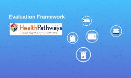 HealthPathways Sydney Evaluation Framework