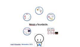Meiosis y fecundación.