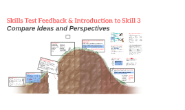 Skills Test Feedback & Introduction to Skill 3