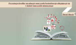 Copy of Prezentacja dorobku zawodowego nauczyciela kontraktowego ubi