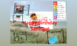 Sándigo Happy Birthday!
