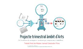 TFM. Projecte Trimestral al Batxillerat d'ARts