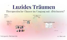 Copy of Luzides Träumen