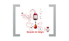 Campana Donacion de Sangre