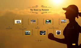 My Race to Boston