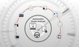 Automotive Grade Android, Innovation Bazaar