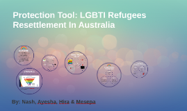 Protection Tool: Community Based Protection for LGBTI Young