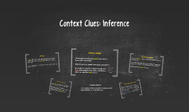 Context Clues: Inference/Examples
