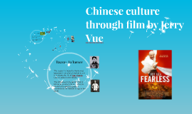 Chinese culture through film by Jerry Vue