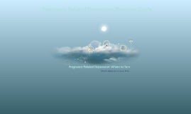 Pregnancy Related Depression: Where to Turn