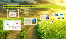 Copy of Copy of CANALES DE DISTRIBUCION DE BIMBO