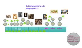 Copy of Copy of Del autonomismo a la Independencia