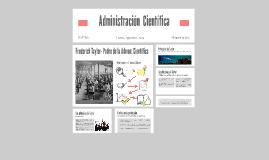 Copy of Administración  Científica