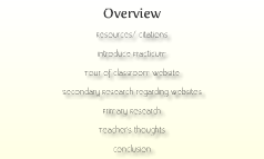 Websites in Education