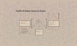 Health of Nation Outcome Scales