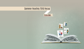 Summer Reading 2016 Recap