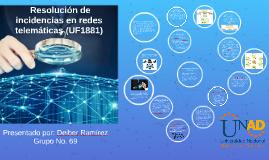 Resolución de incidencias en redes telemáticas (UF1881)