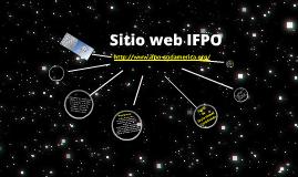 Sitio web IFPO