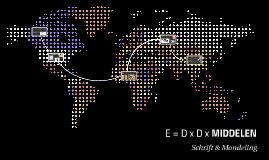 E = D x D x MIDDELEN