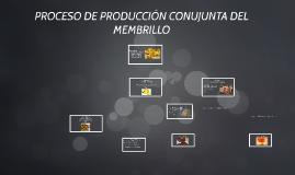 proceso de produccion de costos del membrillo