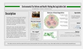 Environmental tax reform and health