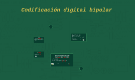 Codificación digital bipolar