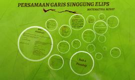 Copy of PERSAMAAN GARIS SINGGUNG ELIPS