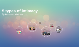 5 types of itimacy