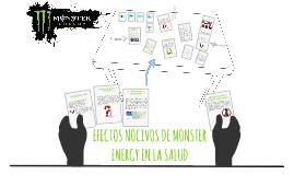 EFECTOS NOCIVOS DE MONSTER ENERGY EN LA SALUD