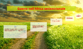 Guerre nell'Africa settentriolale
