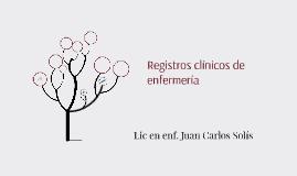 Registro clínico de enfermería