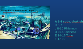 Utopia and America Comparison